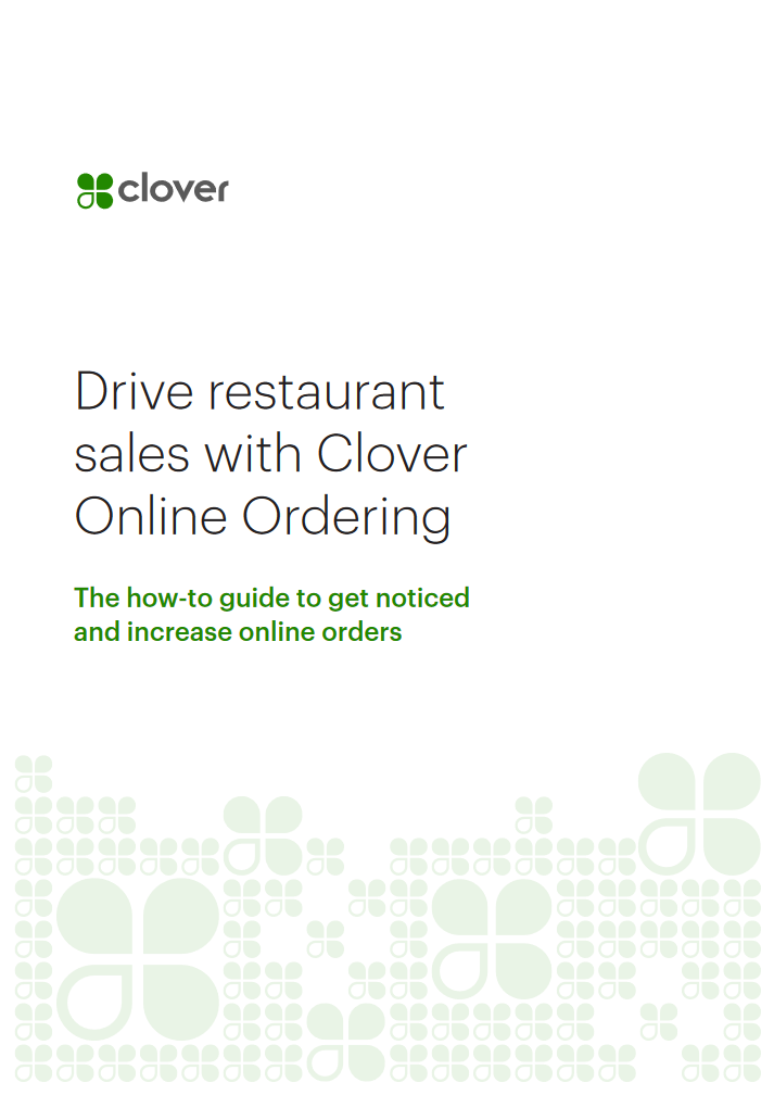 eBook Cover for Drive Restaurant Sales with Clover Online Ordering