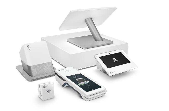 Full suite of Clover Point-of-Sale (POS) hardware options